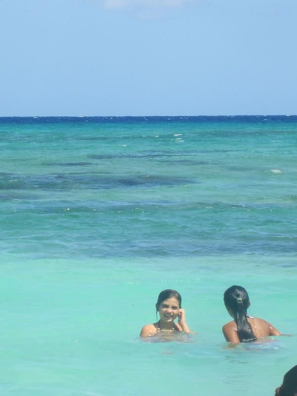 Pretty girls in pretty water